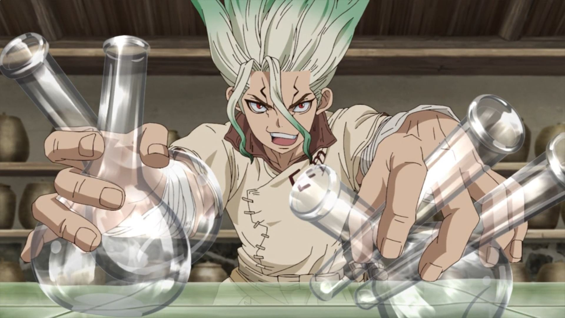 Dr.stone ep 13 screen 2