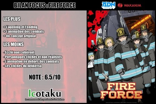Bilan Fire Force #Icotaku