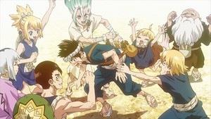 Dr.Stone / Senku / Chrome / Kohaku / Gen / Kinro / Ginro / Suika