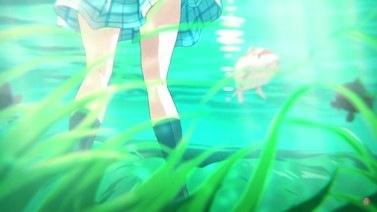 A Silent Voice Shoko Underwater