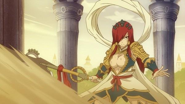 Erza Scarlett Fairy Tail badass