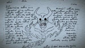 Un Horror dans le manuscrit de Voynich