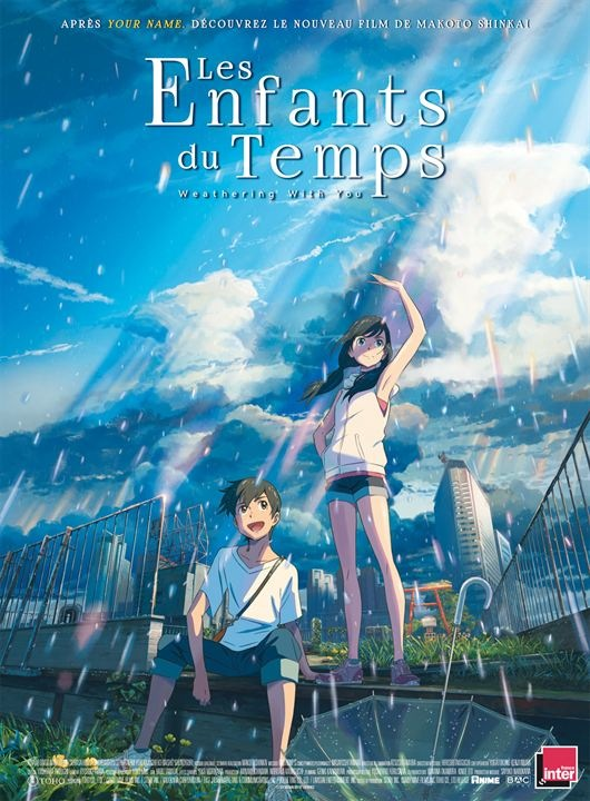 Tenki no ko les enfants du temps weathering with you