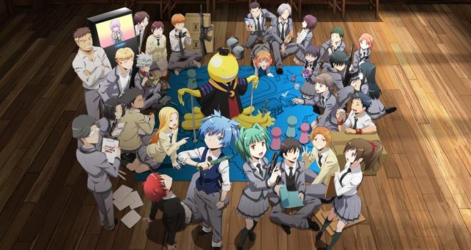 la seconde saison d 39 assassination classroom bient t sur anime digital network icotaku. Black Bedroom Furniture Sets. Home Design Ideas